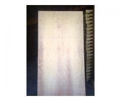 Maderas Cultivadas vende plywood de 4mm, 6mm, 9mm, 12mm en especio pochote