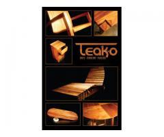 TEAK-O: Arte, madera, función